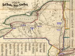 Map Of State Of New York by Train Map New York State New York Map