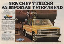 Vintage Ford Truck Advertisements - vintage 81 87 gm advertisements