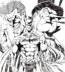 batman vs joker tattoo sketch photos pictures and sketches