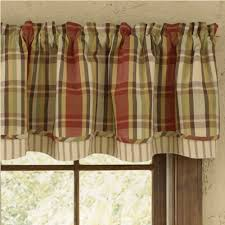 country layered valance curtains heartfelt 72