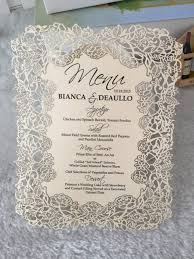 invitation printing services lace design european wedding invitation cards with printing