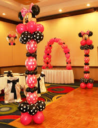 Columns For Party Decorations Minnie Mouse Room Decor Mickey U0026 Minnie Mouse Party Decorations