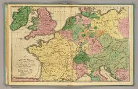 Map Of Switzerland And France by Central Europe David Rumsey Historical Map Collection