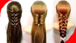 7 easy hairstyles for long hair best hairstyles for girls youtube