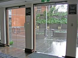 glass outside doors outdoor furniture inspirations frameless shop front glass