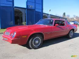 1981 Camaro Interior 1981 Red Chevrolet Camaro Berlinetta 76071986 Gtcarlot Com