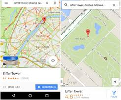 Oogle Map Google Maps Recent Update Integrates Street View For Turns
