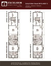schult manufactured homes floor plans schult main street 8016 4007 5 excelsior homes west inc