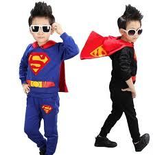 Birthday Suit Halloween Costume Aliexpress Buy Super Hero Costume Boys Superman Suit