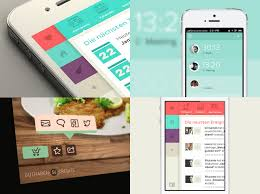 app design inspiration 30 recent inspirational ui exles in mobile device screens