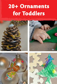 classic ornaments toddlers can make salt dough pine cone and