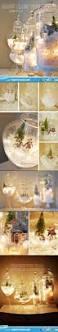 snow globe terrariums snow glow diy christmas decoration