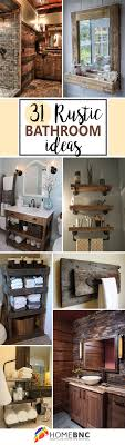 rustic bathroom design ideas 31 gorgeous rustic bathroom decor ideas to try at home rustic