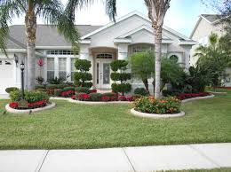Front Yard Landscaping Ideas Notice How The Border Edging Closely Matches The Color Of The