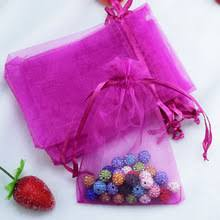 large organza bags popular pink organza bags buy cheap pink organza bags lots from
