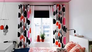 Red Curtains Ikea Beautiful Patterns Blackout Curtains Ikea Home U0026 Decor Ikea
