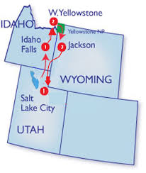 Salt Lake City Zip Code Map by Yellowstone U0026 Tetons 2017 Solar Eclipse Tour