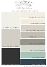 Paint Colors For Living Room 2017 2015 Best Selling And Most Popular Paint Colors Sherwin Williams