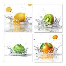 online shop drop ship wall art canvas paintings fruits 4 panel