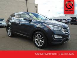 used hyundai santa fe denver used 2014 hyundai santa fe sport 2 0l turbo for sale denver co