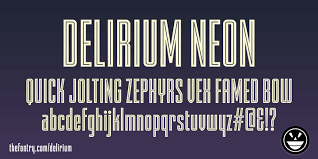 fty delirium ncv font by the fontry fontspace