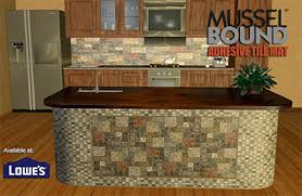 do it yourself kitchen islands musselbound adhesive tile mat diy do it yourself bathroom vanity