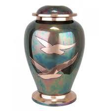 creamation urns going home raku brass cremation urn in the light urns