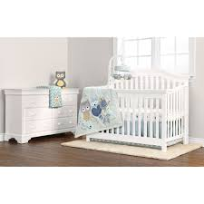 Baby Cache Heritage Lifetime Convertible Crib White by