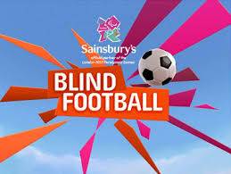 Paralympics Blind Football Sainsbury U0027s Blind Football Launched The Average Gamer