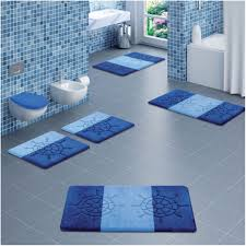 Small Bathroom Rugs Bed U0026 Bath Blue Frost Cotton Bathroom Rug Sets For Remarkable