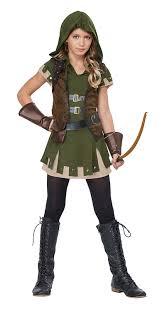 amazon kids halloween costumes amazon com california costumes miss robin hood tween costume