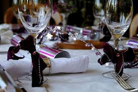 Christmas Table Decoration Purple by Christmas Table Decorations Inspiration For The Holiday Season