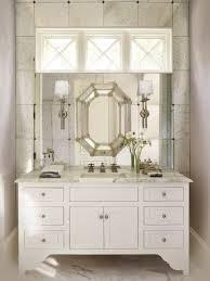 bathroom cabinets elegant silver framed wall mirrors bathroom