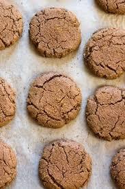 grain free soft ginger molasses cookies recipe ginger molasses