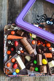 leftover halloween candy bark i don u0027t have time for that