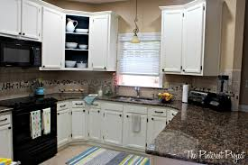 Easy Kitchen Cabinet Makeover A Quick Kitchen Makeover The Pinterest Project