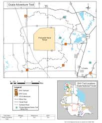 Map Of Ocala Florida by Ocala National Forest Maps U0026 Publications
