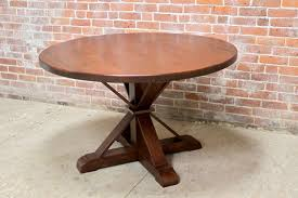 small round pedestal table small round table with x pedestal base x base dining table kobe table