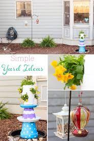 Simple Backyard Ideas Simple Spring Yard Refresh With Fun Backyard Ideas
