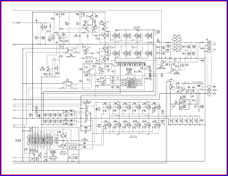 100 wiring diagram of amplifier audio system cap20 in two