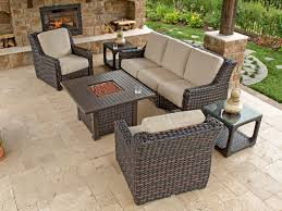 Patio Chair Fabric Gorgeous Sunbrella Patio Furniture Basso 5pc Collection With Linen