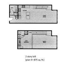 2 story loft floor plans aloft floor plan 9