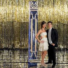 themes and ideas in the great gatsby gold foil curtain prom theme the great gatsby part 1 prom