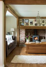 Modern Cottage Living Room Ideas Border Oak A Way To Display Photos H Fireplace Pinterest