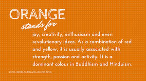 colour meaning the meaning of the colour orange my web value