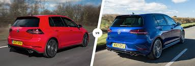 volkswagen hatch old vw golf gti vs golf r u2013 which hatch is best carwow