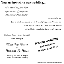 for wedding tips on best fonts for wedding invitations