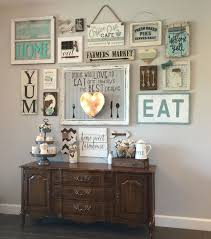eat in kitchen decorating ideas best 25 kitchen gallery wall ideas on dining room