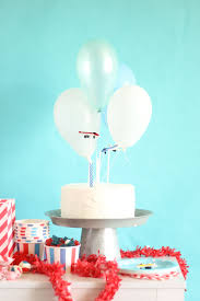 airplane cake topper airplane party diy cake topper birthday balloon time