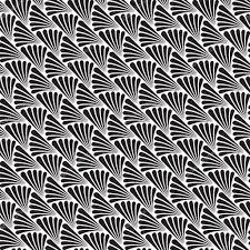Papier Peint Art Nouveau Déco Transparente Noir Et Blanc Fond Motif Papier Peint Texture